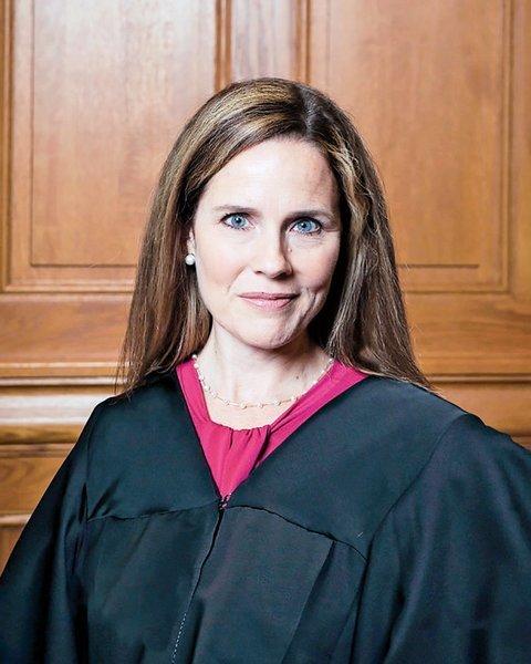 據報特朗普將提名巴雷特繼任大法官