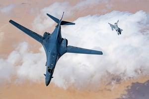 美軍B-1B轟炸機完成升級 參與亞太軍演威懾中共