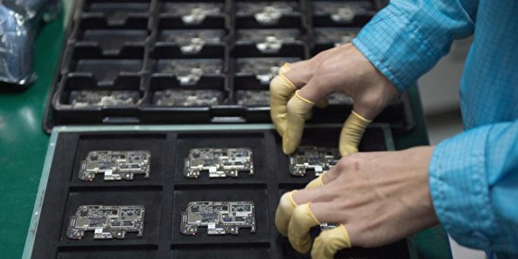 美國商務部給美國公司的信函顯示,美國已經對中芯國際實施制裁,將其列入出口管制。(AFP)