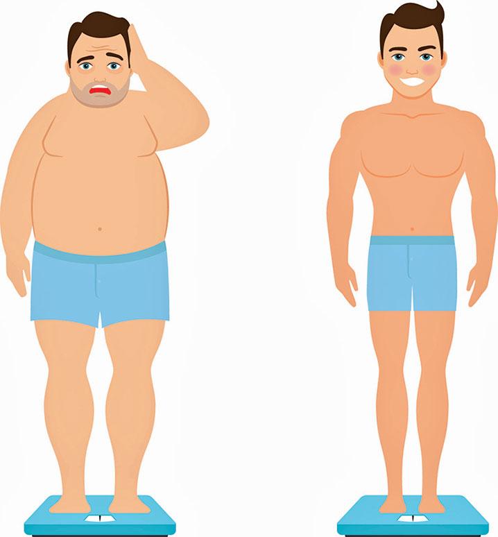 勵志案例!140公斤網紅年減體重一半