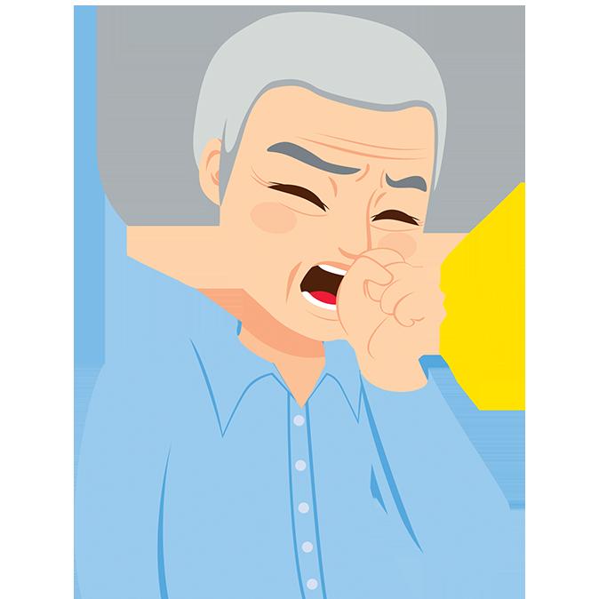 咳痰帶血半年   竟是排骨屑卡在支氣管