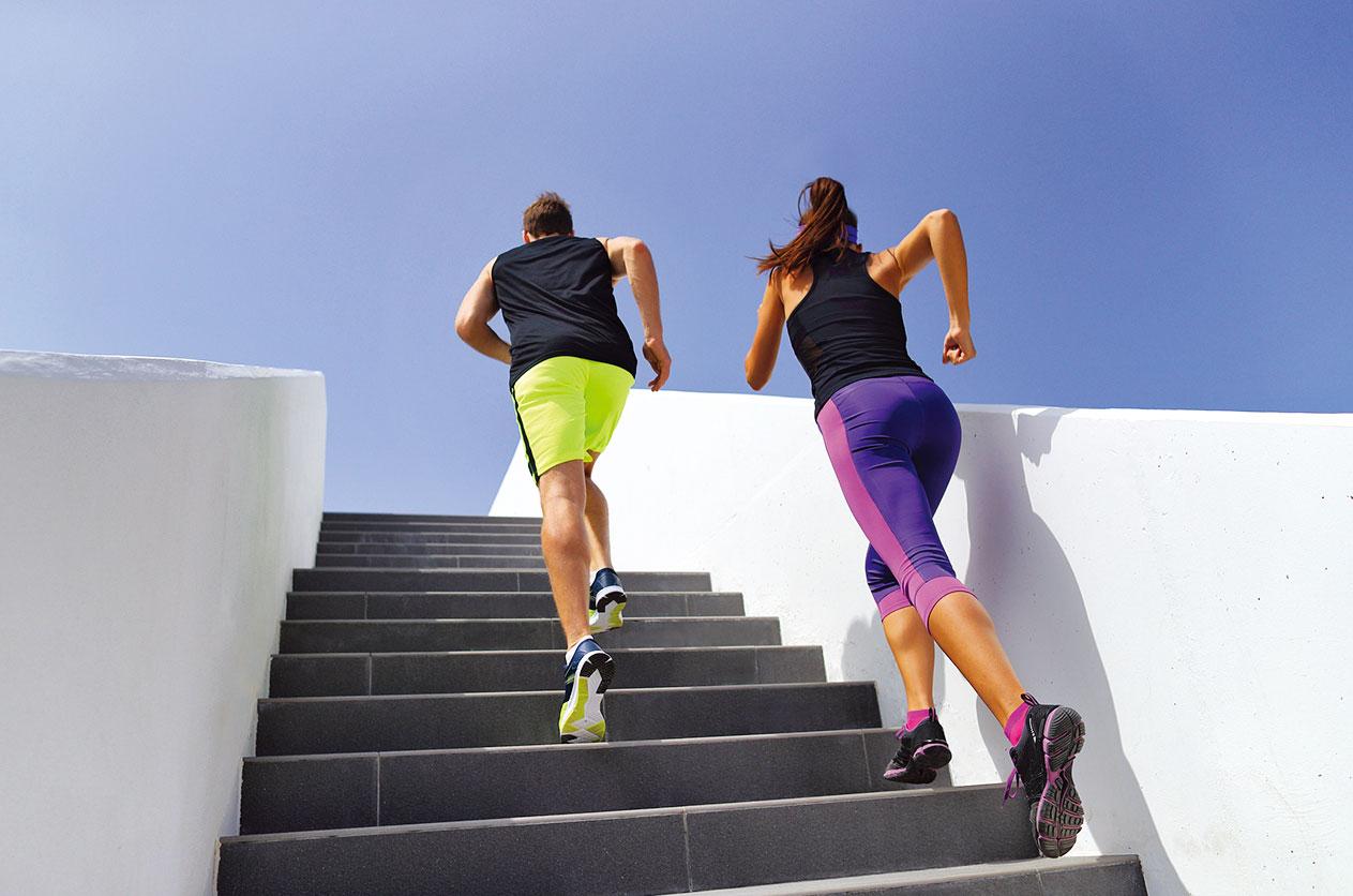 多利用時間運動,才能改善自己的身材。(Fotolia)