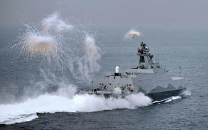 陸媒稱共軍24小時內可登陸台灣 遭美媒打臉