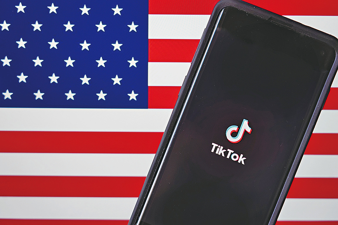 華盛頓特區的一名法官於周日叫停了當天午夜生效的TikTok下載禁令。(Getty Images)