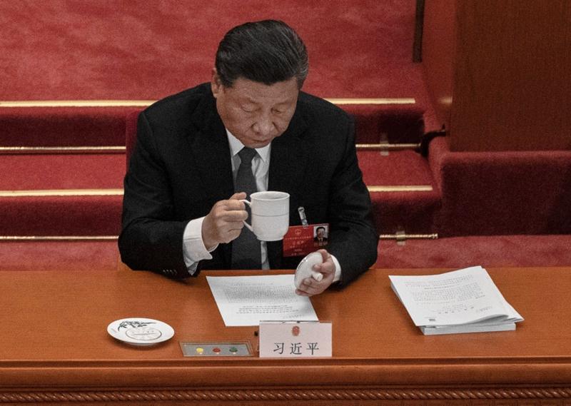 日前召開的中共政治局會議通過一項重磅條例,對所有中央委員作出「全面規定」,並再次強調保衛「習核心」,引發輿論關注。(Kevin Frayer/Getty Images)