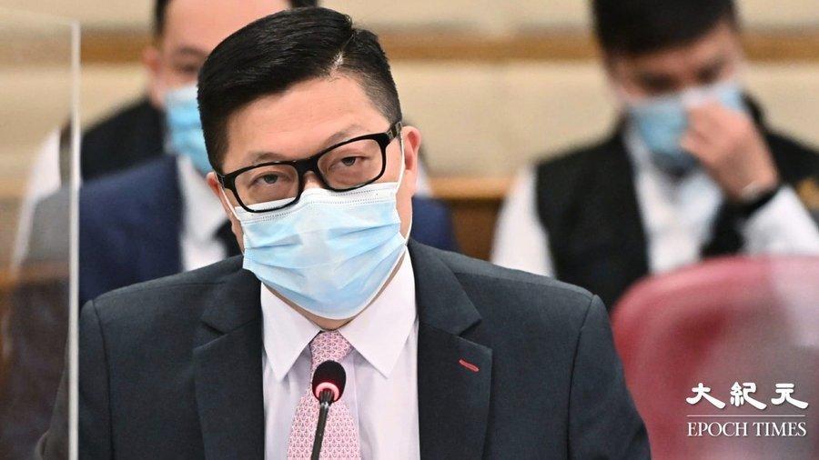 鄧炳強在油尖旺區議會 被要求辭職以謝天下