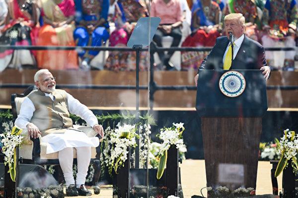 特朗普就中印邊境問題再度表態 印裔選民力挺特朗普