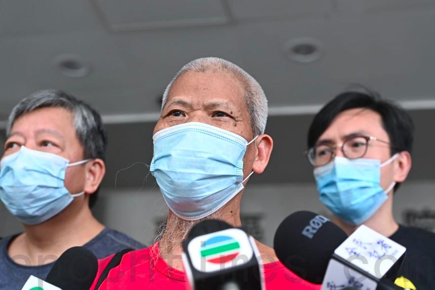 古思堯因為社會運動已經入獄9次,他表示之後打算違反「國安法」。(宋碧龍/大紀元)