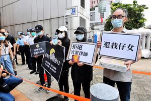扣押39日鹽田檢察院批准逮捕12港人 鄧棨然、喬映瑜被控較重組織罪名