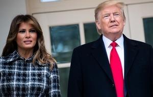 【突發】特朗普總統和夫人中共病毒測試為陽性