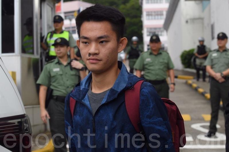 2019年10月23日,陳同佳因洗黑錢罪刑滿出獄,當時表示將會赴台投案,事隔已近一年。(大紀元資料圖片)