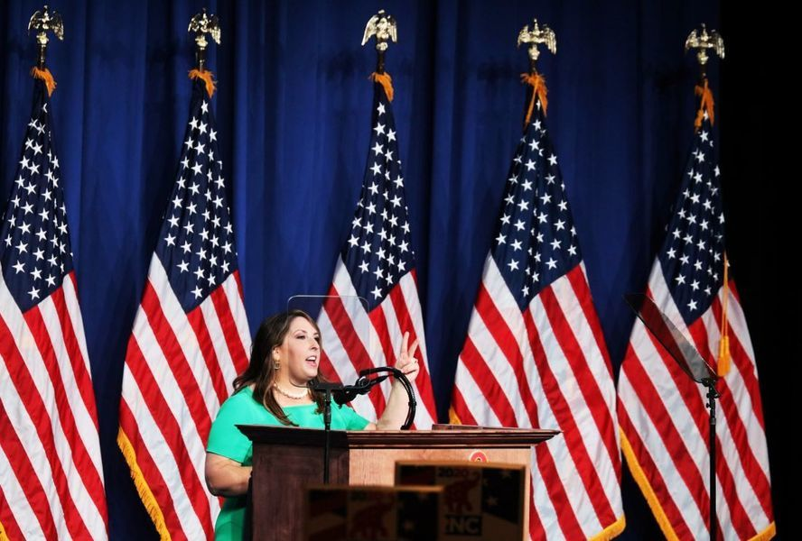 美共和黨女主席中共病毒測試呈陽性