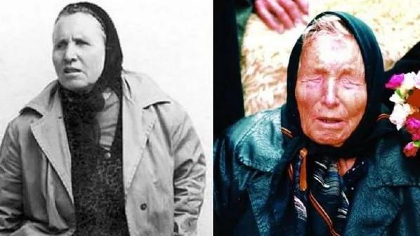 左為較年輕時期的「龍婆」。右為暮年的「龍婆」。(網絡圖片)
