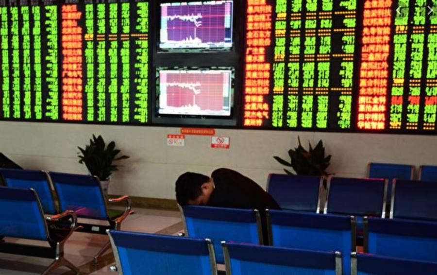 中共控管銀行大額現金 A股黑九月跌四萬億 學者憂中國經濟極衰退