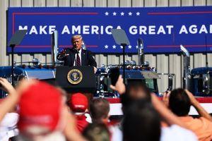 智囊民調:特朗普有望奪320張選舉人票連任