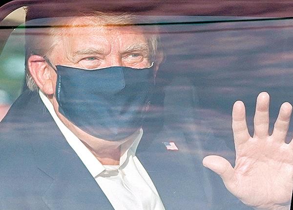 特朗普有望今日返回白宮