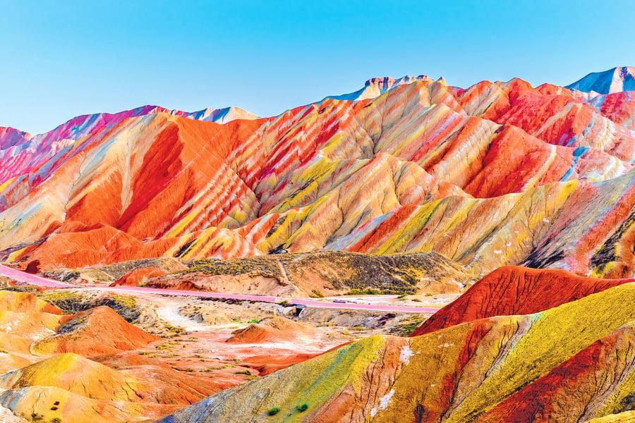 世界上最色彩繽紛的 4 處地貌