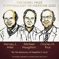 英美三科學家發現丙肝病毒 奪諾貝爾醫學獎
