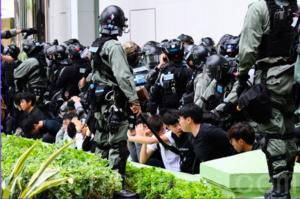 傳香港特務警察增至1,200人 民權觀察批警「軍事化」增抗爭者壓力