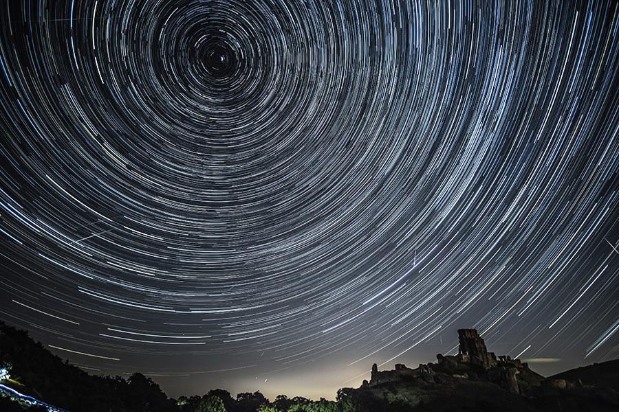 蔚為壯觀 英仙座流星雨精彩圖輯