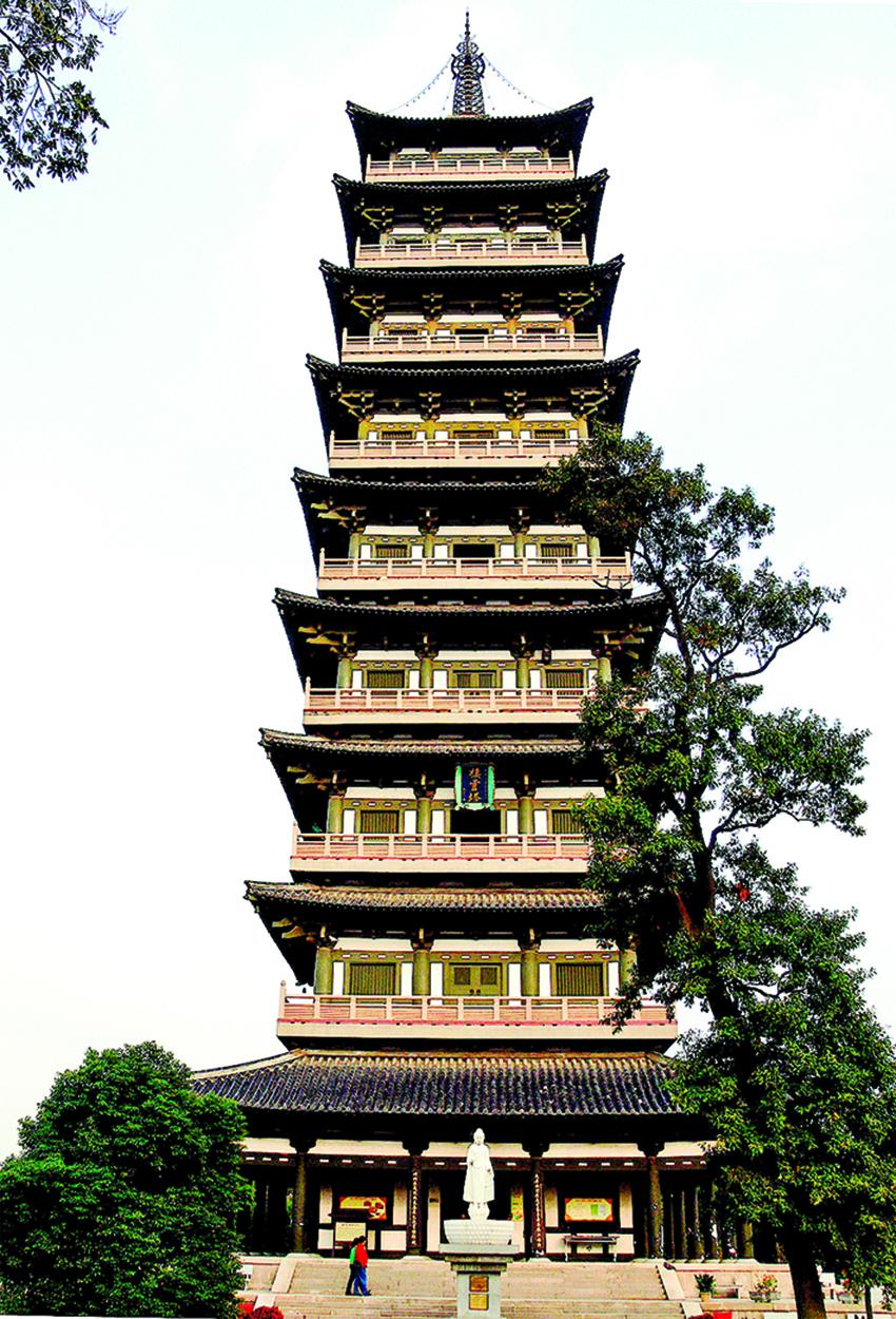 揚州大明寺棲靈塔。(Gisling-Wikimedia Commons)