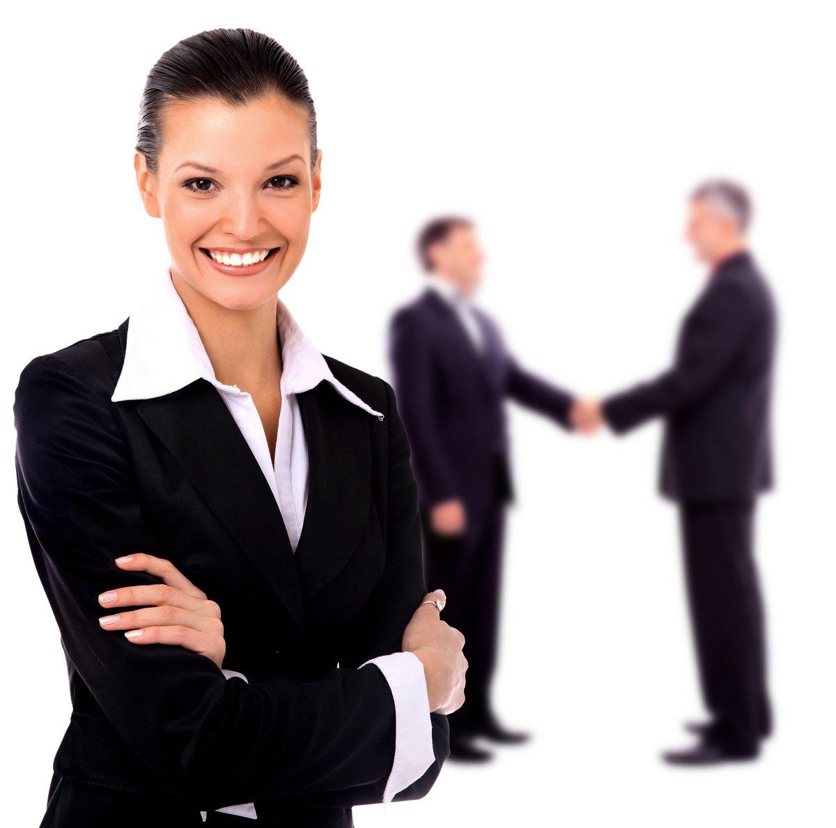 正式商務穿著,正式的工作餐與大型會議都有這樣的著裝要求。女士素雅顏色修身西裝褲或西裝及膝裙。一般來說黑色、深灰色、深藍色都是不錯選擇。(fotolia)