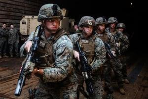 美海軍陸戰隊與第七艦隊聯合軍演十天 震懾中共