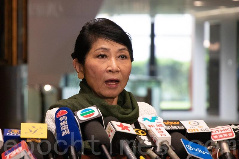 毛孟靜表示,相信隨著中國(中共)對香港自由及人權的箝制越嚴重,其在國際上的地位會受到更大的孤立。(大紀元資料圖片)