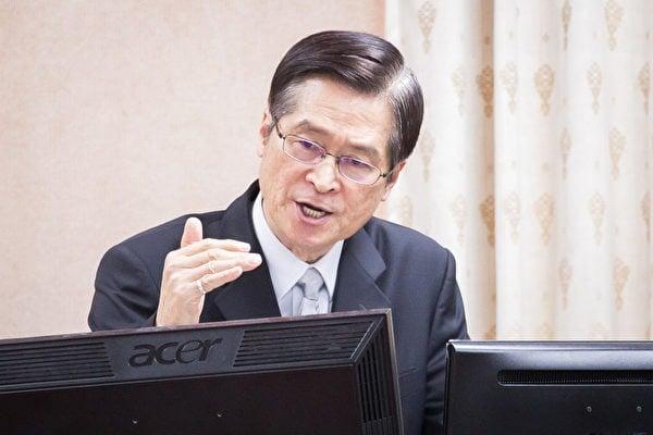 10月7日,台灣國防部長嚴德發於立法院表示,將成立「防衛動員署」強化後備戰力、擴大軍力,對抗中共對台武力威脅。他還說,台灣的安全主要還要靠自己。圖為台灣國防部長嚴德發資料照。(陳柏州/大紀元)