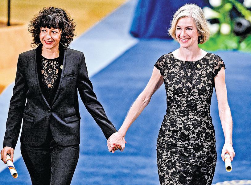 開發基因剪刀 兩女學者獲獎