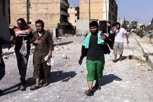 IS大潰逃 數千車隊撤離敘利亞據點