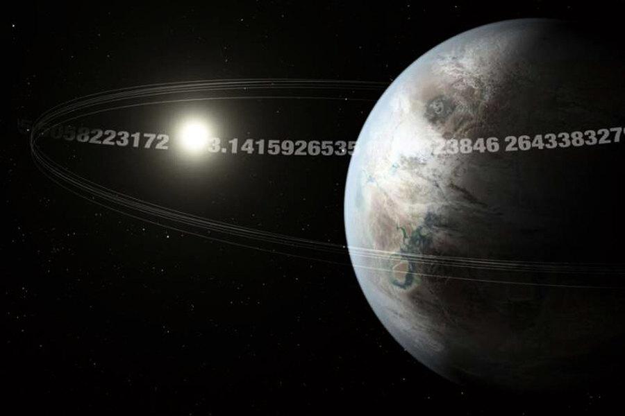 神奇Pi星球 每3.14天繞其主星一周