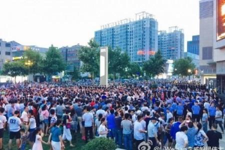 連雲港民眾持續反核廢料 將連三日大罷工