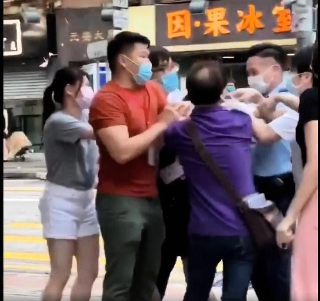 親共商人襲擊反國安法街站議員助理 卻雙雙被控公眾地方打鬥罪