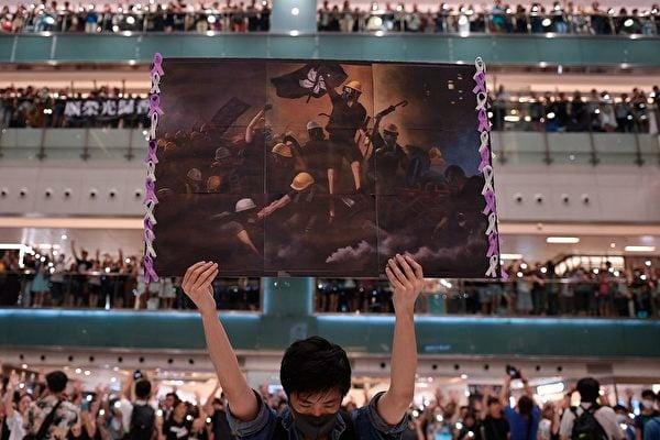 香港抗爭照片獲世界新聞攝影賽冠軍澳門展出疑受壓遭取消 |大紀元時報香港|獨立敢言的良心媒體