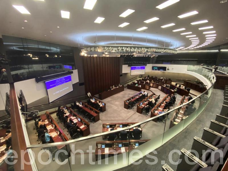 【直播】李慧琼連任立法會內委會主席 陳健波當選財委會主席