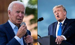 特朗普與拜登形式上有分歧 美國總統選舉次場辯論取消