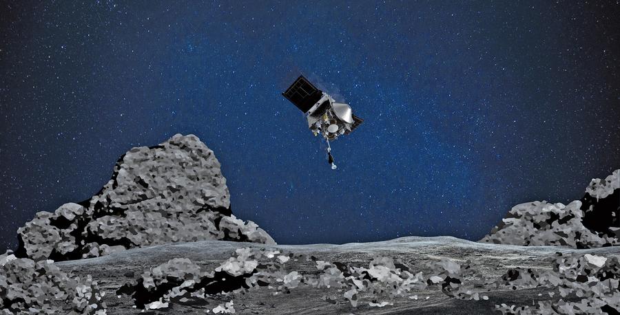NASA探測小行星本努 獲意外發現