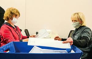 俄州五萬張郵寄選票出錯 特朗普:失控