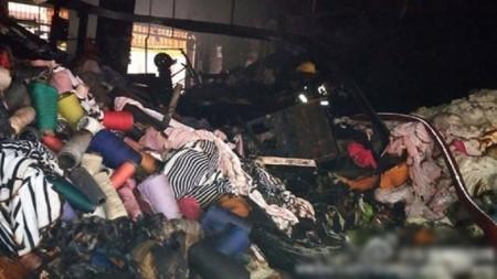 消防指起火單位為一間針織服裝廠。(網絡圖片)