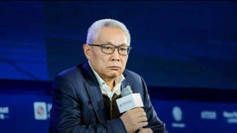 圖為北京市華遠集團前董事長任志強接受媒體採訪。(視像截圖)