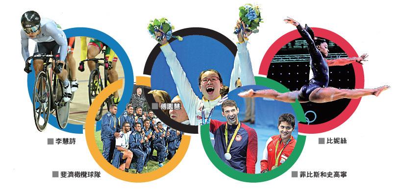 奧運中每個人都是故事