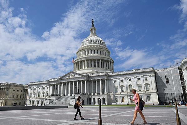 美國政府已經看破中共本質,也清醒認識到美中對抗是反擊中共意識形態。美國國會發表報告,提出剔除中共意識形態的九大行動方向。圖為美國國會大廈。(MANDEL NGAN/AFP/Getty Images)