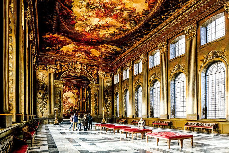英國彩繪畫廳裏的 海軍榮景與神話(一)