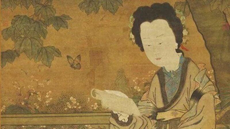 許負,是中國歷史上第一位被記載於正史的女相士,她握玉而生,通曉古今,預知未來。(公共領域)