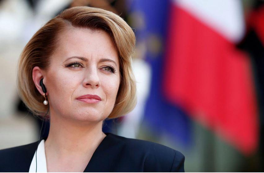 斯洛伐克總統查普托娃(Zuzana Caputova)。(Ian Langsdon EPA-EFE  Shutterstock)