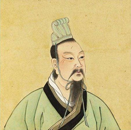 漢文帝劉恆有個寵臣,名叫鄧通。許負預言,鄧通將來會一文不名,貧困而死。圖為漢文帝畫像。(公有領域)
