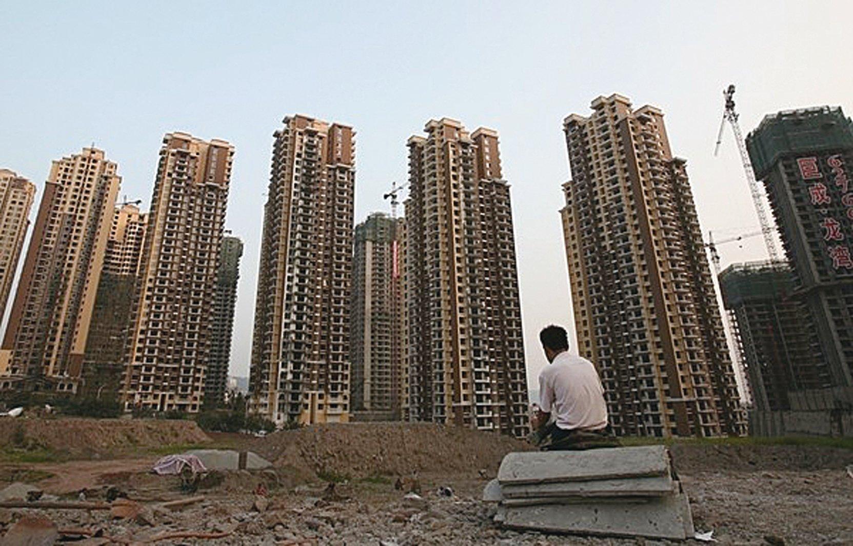 中國大陸一線城市房價飆漲。最新民間數據顯示,北京、上海和深圳的部份總價500萬元的住宅已經不能再稱之為「豪宅」。(Getty Images)
