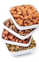 堅果等高脂肪食物  能促進營養素吸收