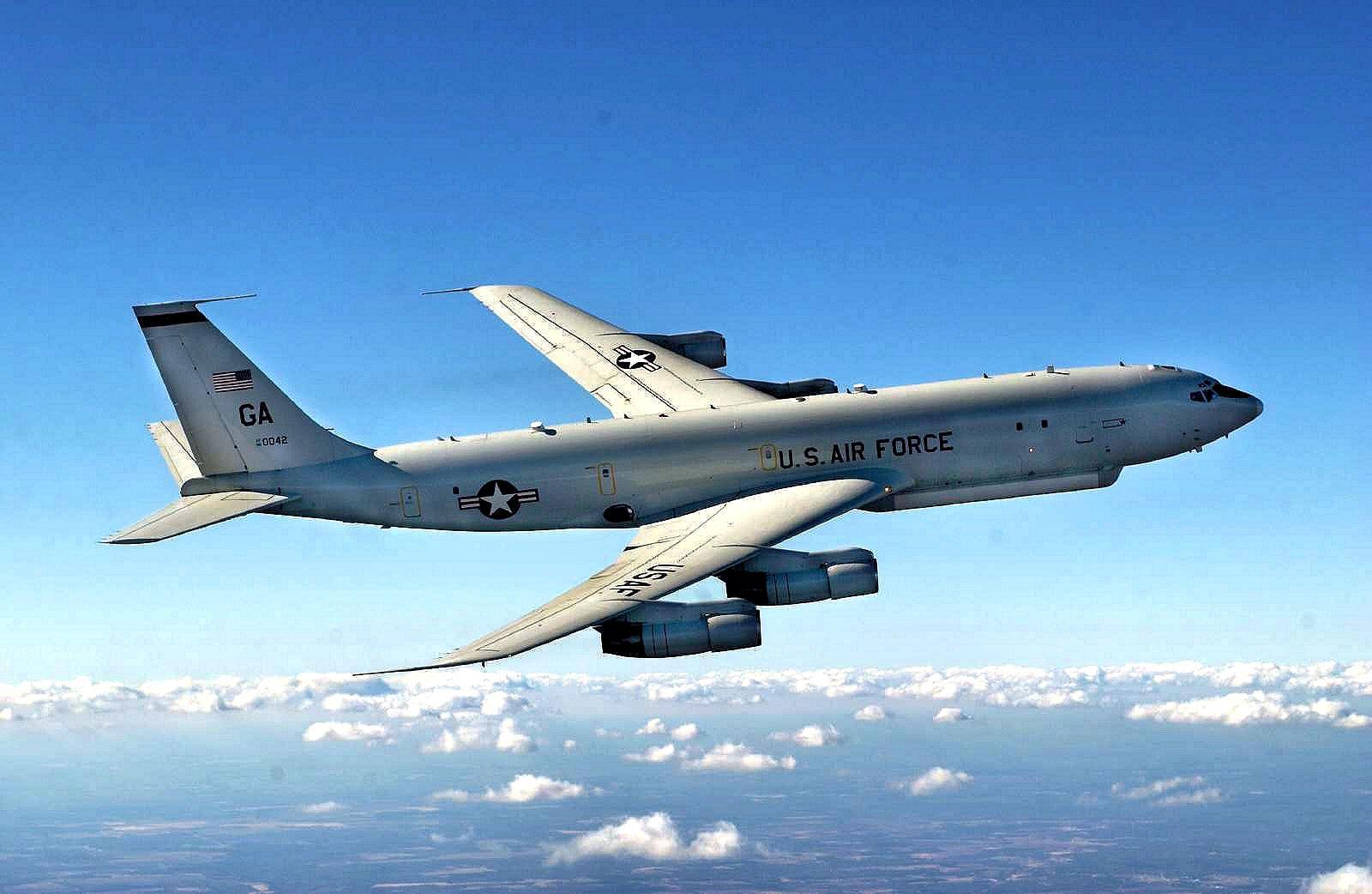 圖為美軍E-8C「聯合星」戰場指揮與監視機。(公有領域)